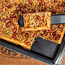 Picture of Carmelized-Honey Nut and Seed Tart