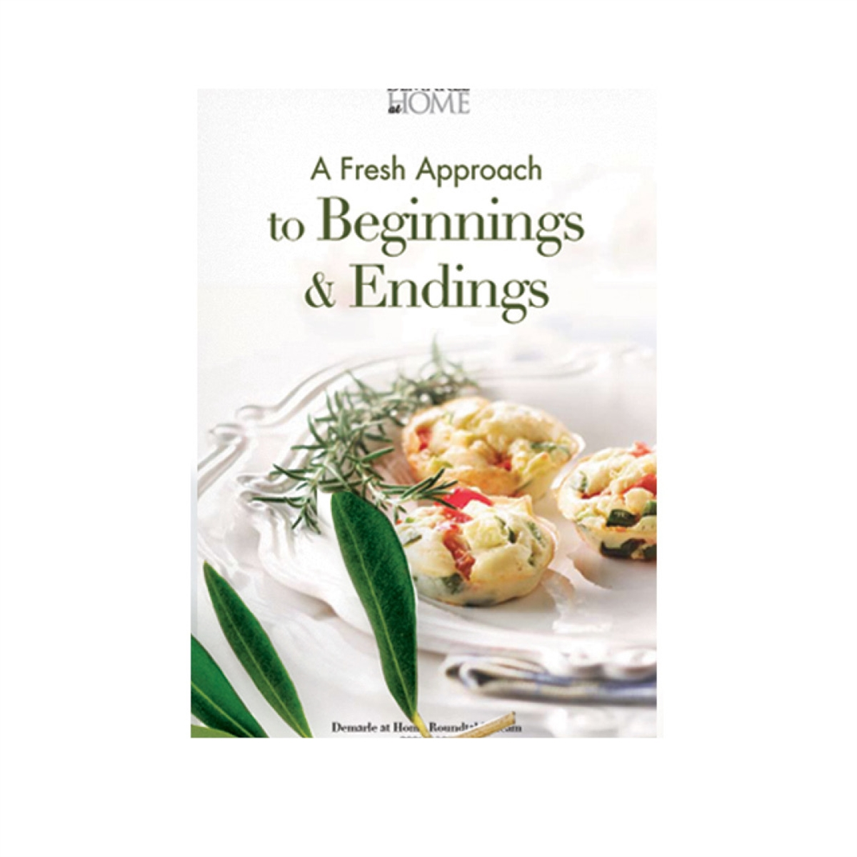 Picture of FRESH APPROACH TO BEGINNINGS & ENDINGS COOKBOOK